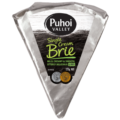 White Single Cream Brie 125g