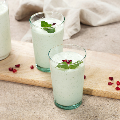 Mint Lime Lassi