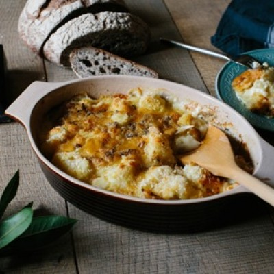 cauliflower and blue cheese