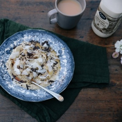 vanilla brown rice porridge 3