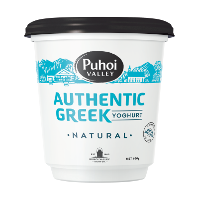Puhoi Valley Greek Yoghurt Natural