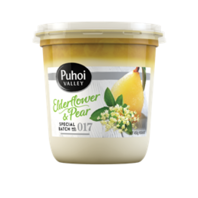 puhoi elderflower pear 450g
