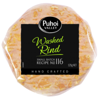 puhoi valley white washed rind 125g