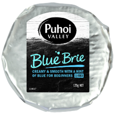 puhoi valley blue brie 125g